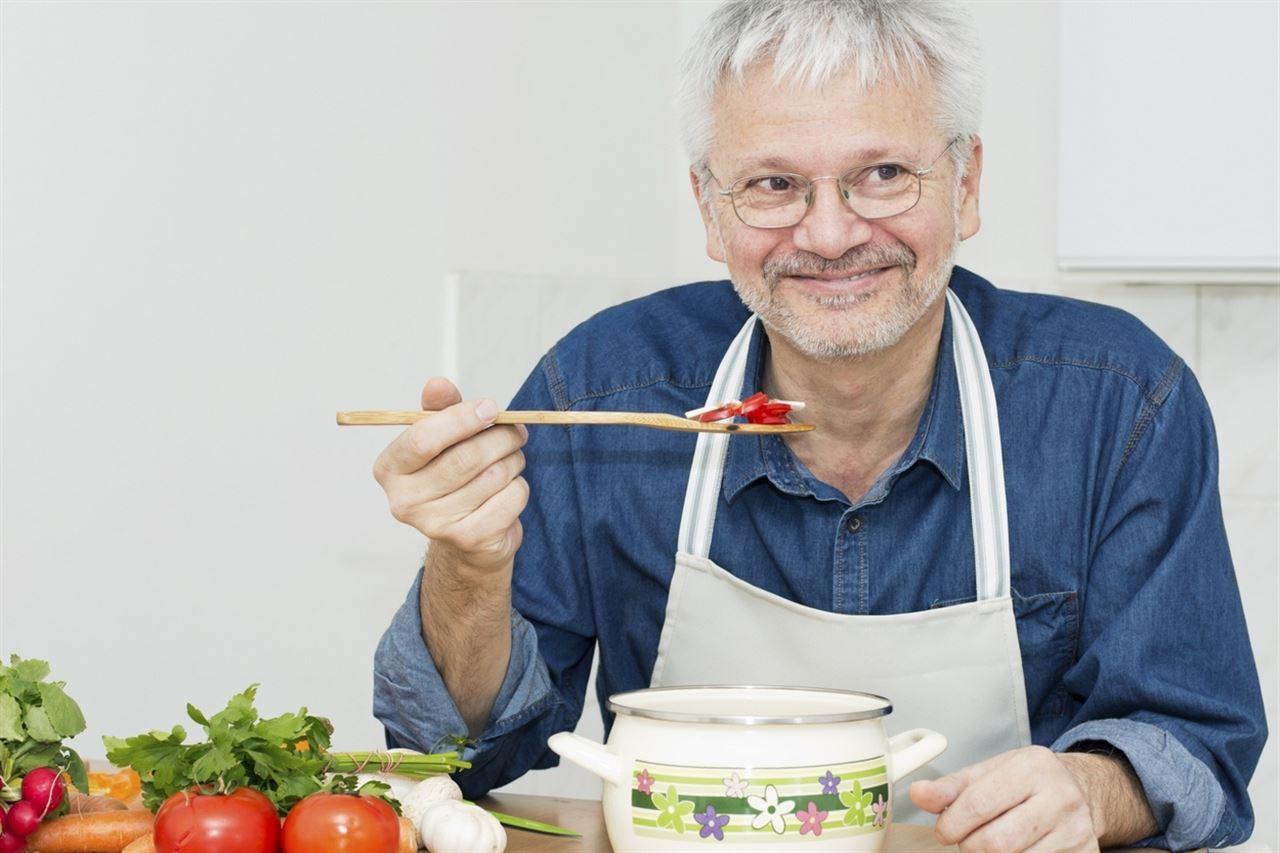 Alimentación en tercera edad