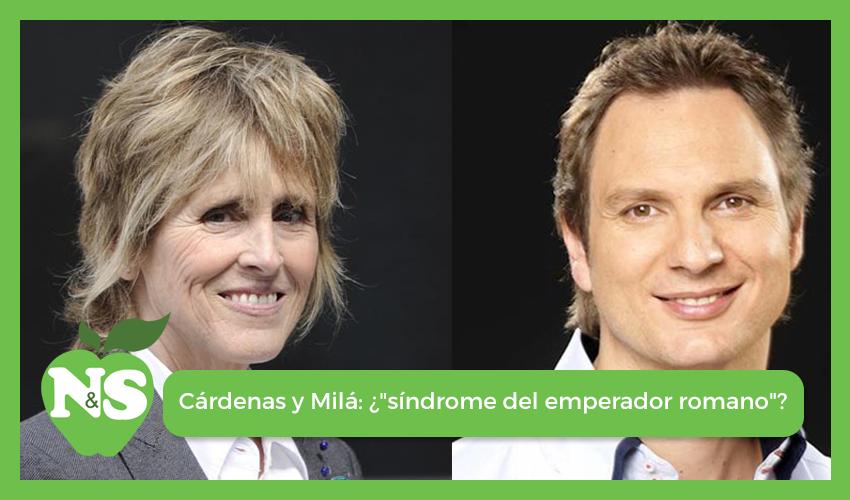 Javier Cárdenas y Mercedes Milá