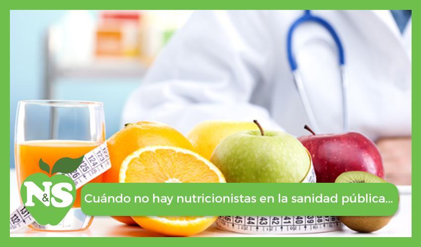 Dietistas-Nutricionistas en la Sanidad Pública